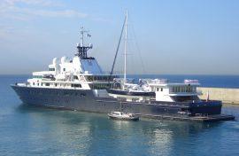 Яхта Романа Абрамовича Le Grand Bleu